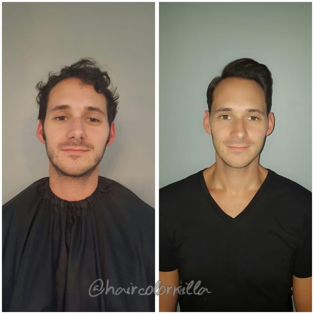 Keratin hair men
