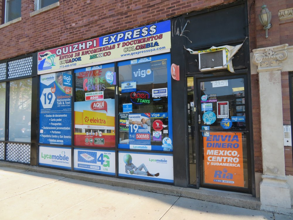 Quizhpi Express & Travel: 2822 N Milwaukee Ave, Chicago, IL