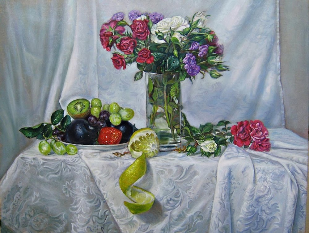 Still Life In Flemish- Old Masters Technique, Oil On Canvas By ... Art <b>Art.</b> Still Life in Flemish- Old Masters technique, oil on canvas by ....</p>