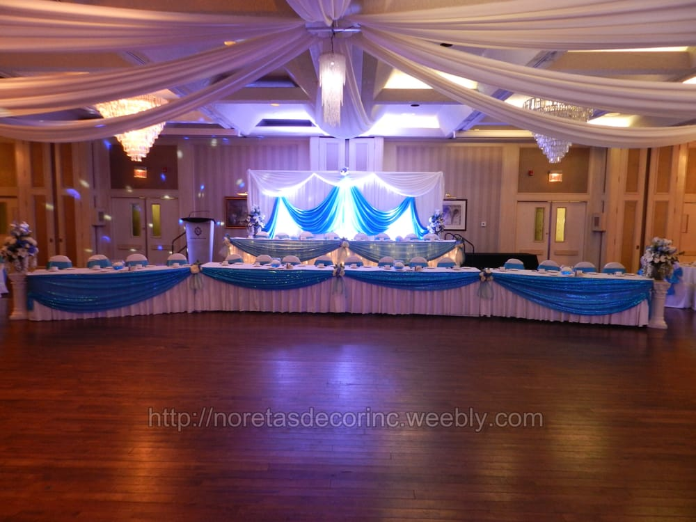 Reception decoration backdrop ideas ceiling drapes for Backdrop decoration ideas