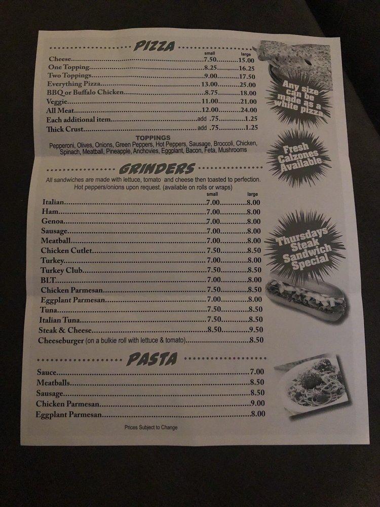 Lucky's Bar & Pizza: 143 Danielson Pike, Foster, RI