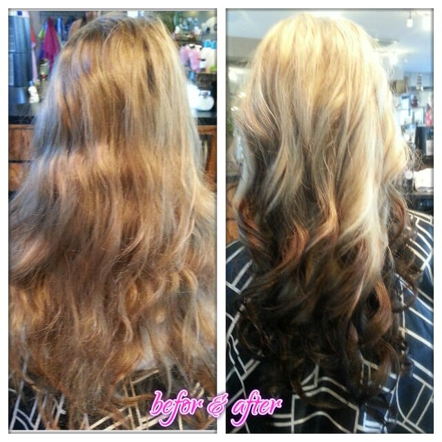 Reverse Platinum Blonde Ombre | www.imgkid.com - The Image ...