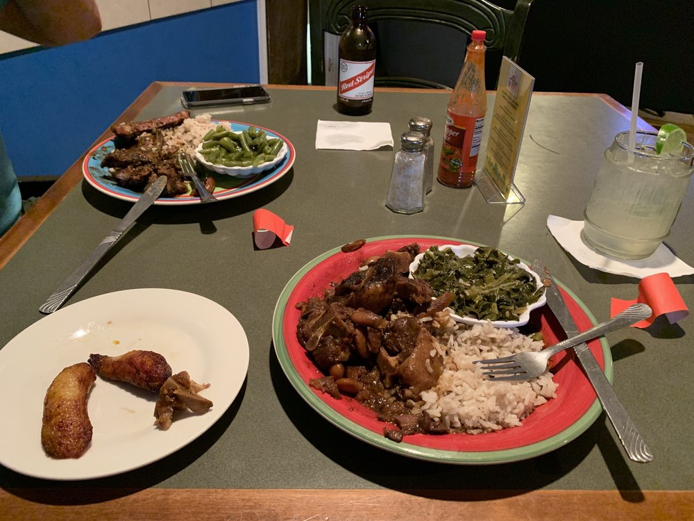 Food from Red Stripes Caribbean Cuisine & Lounge