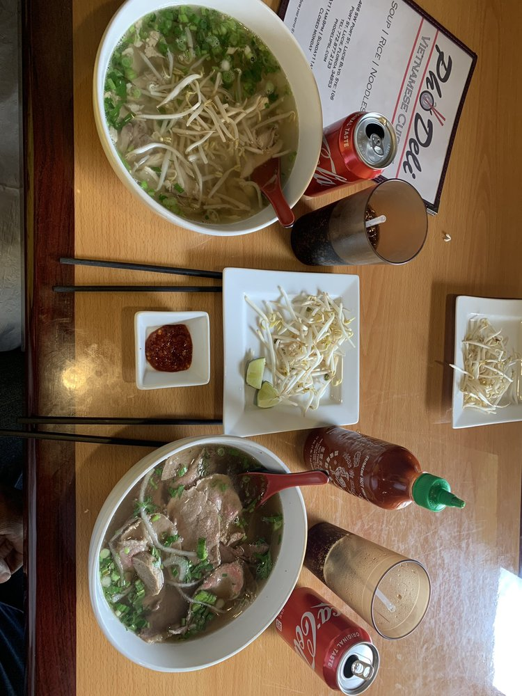 Food from Pho Deli