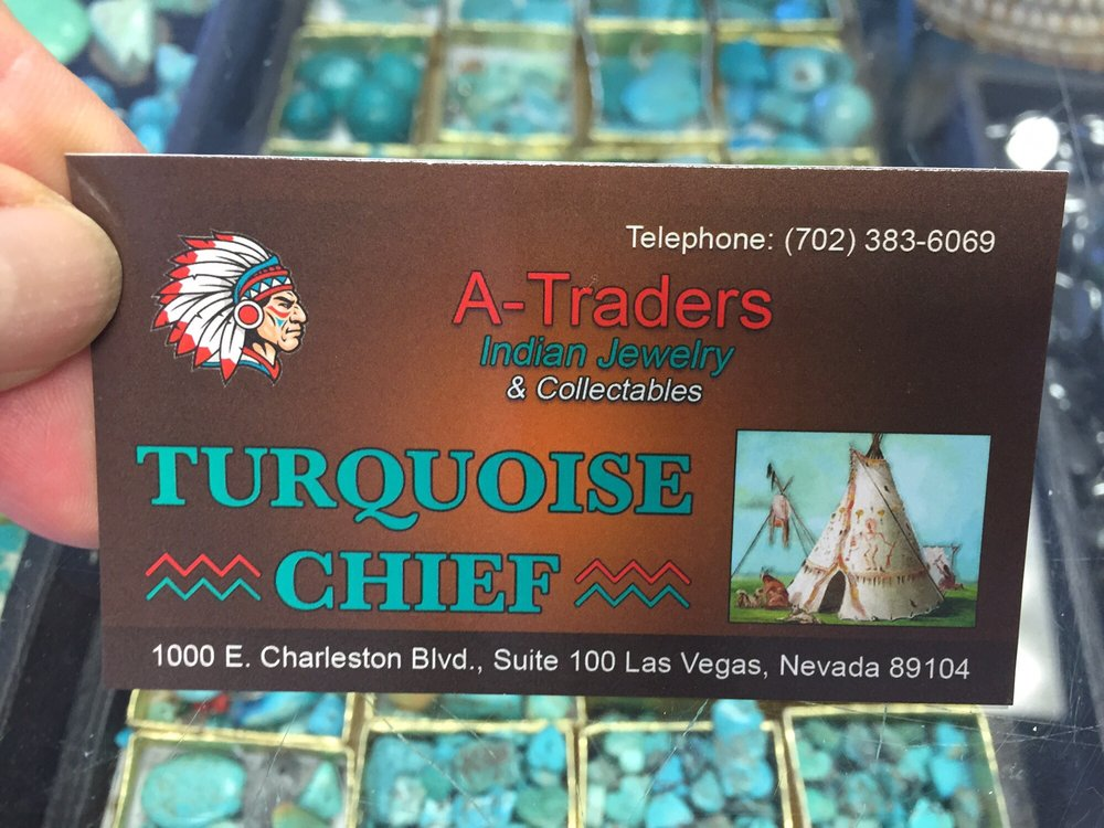 A Traders Turquoise Chief