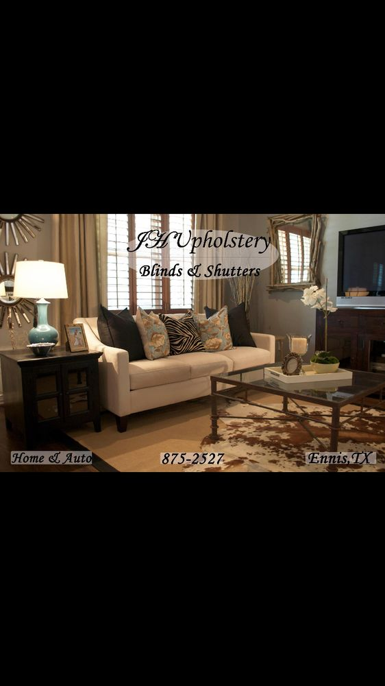 J H Upholstery Designs Blinds Shutters