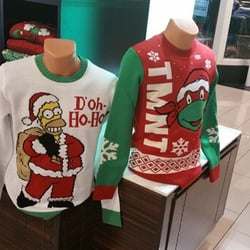 Ugly Christmas Sweaters Los Angeles Fashion 100 W Broadway