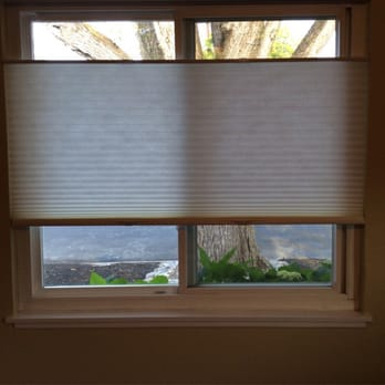Suggest window treatments top bottom can not