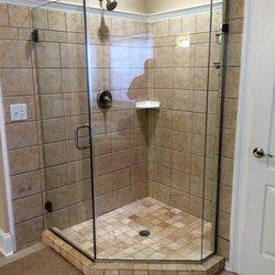 Photo of Carolina Shower Doors - Greer SC United States. Frameless Neo Angle & Carolina Shower Doors - Door Sales/Installation - 105 John St Greer ...