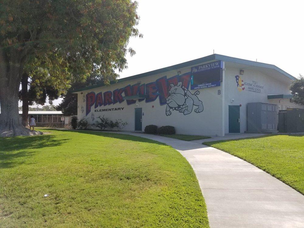 Parkview Elementary School Folkeskoler 12272 Wilken Way Garden Grove Ca Usa