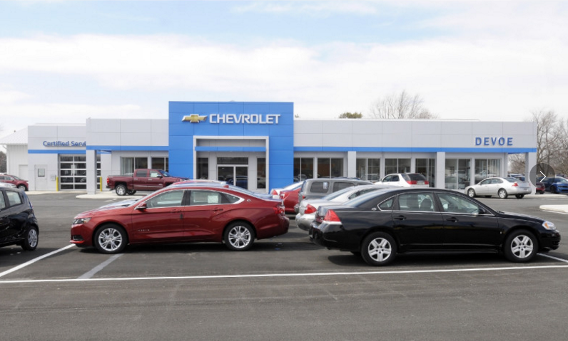 DeVoe Chevrolet: 1816 South Park Ave, Alexandria, IN