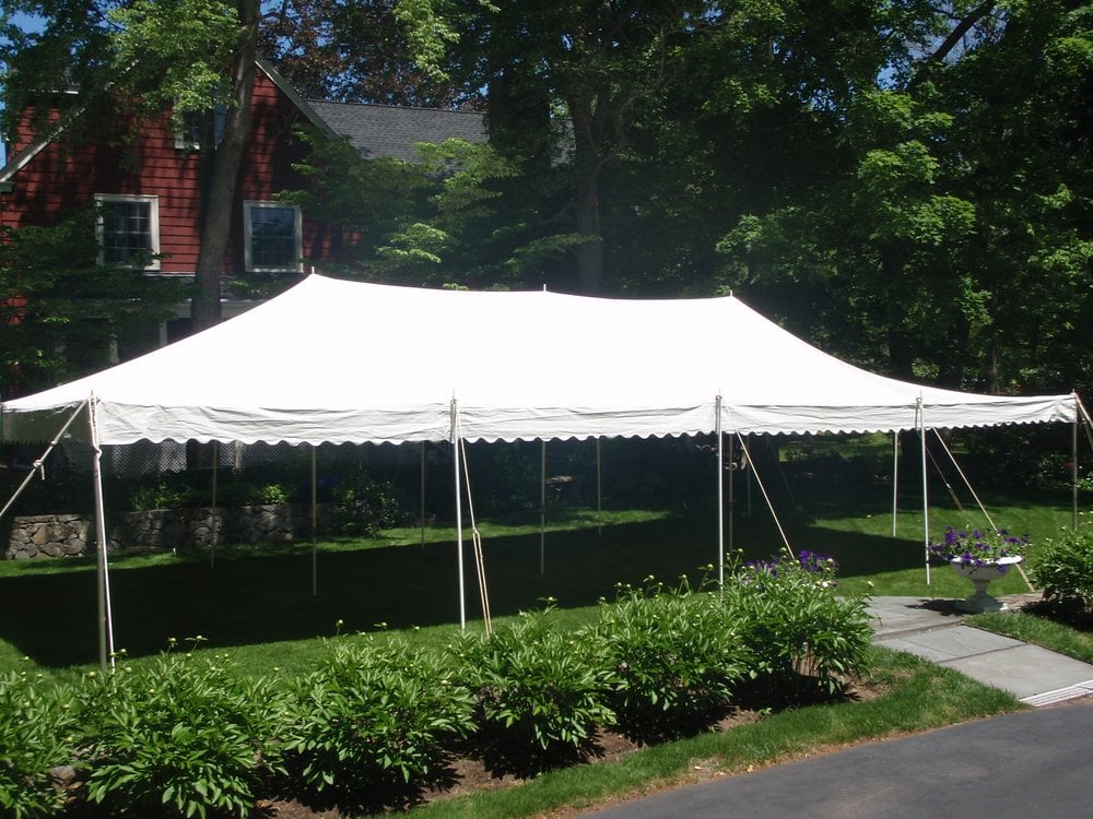 Photo of Newton Tents - Newton MA United States. 20x40 canopy/pole & 20x40 canopy/pole tent - Yelp
