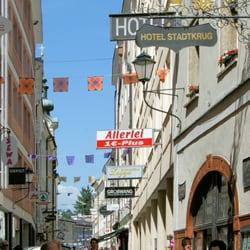 Hotel Stadtkrug Lucian - Hotels - Linzer Gasse 20, Salzburg, Austria