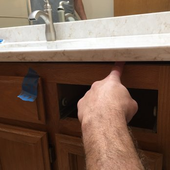 Photo Of Precision Countertops Kent Wa United States Huge Gap On Right