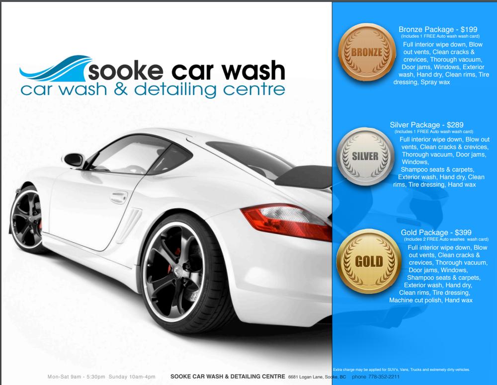 Sooke Car Wash & Detailing: 6681 Logan Lane, Sooke, BC