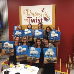 Painting with a twist 112 foto paint sip 16397 for Painting with a twist san diego