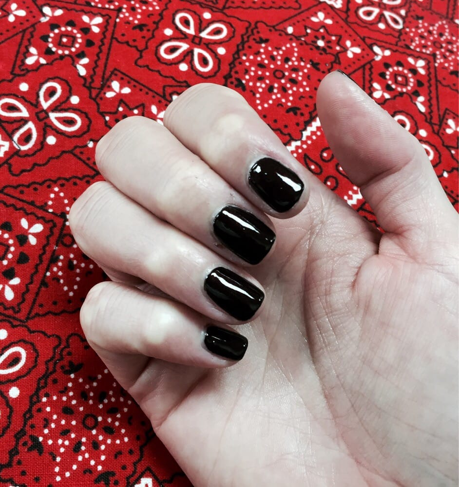 Nails Spa Los Angeles: Regular Mani By Jenny. Don't Mind My Cuticles, I Have A