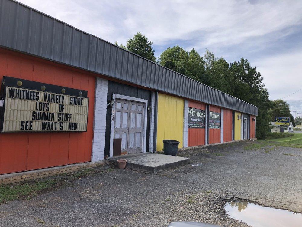 Whitnees Variety Store: 998 Yadkinville Rd, Mocksville, NC