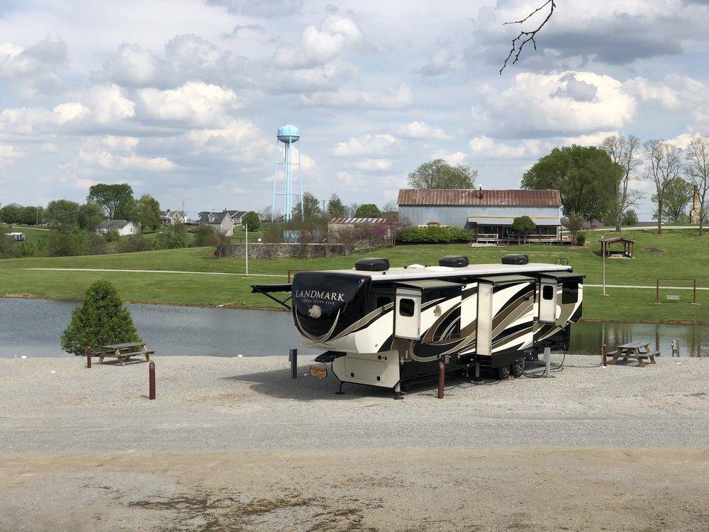 Taylorsville Campground RV Park & Boat Storage: 11 Hunter Rd, Taylorsville, KY