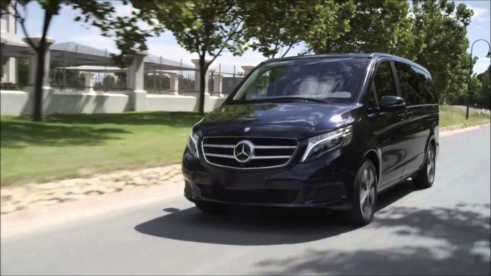 Our Latest V Class Mercedes Luxury Van For Up To Passengers You - Best of france tours