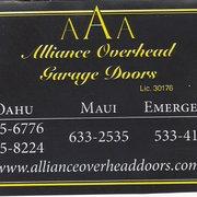 ... Photo Of Alliance Overhead Doors   Honolulu, HI, United States. Alliance  Overhead Garage ...