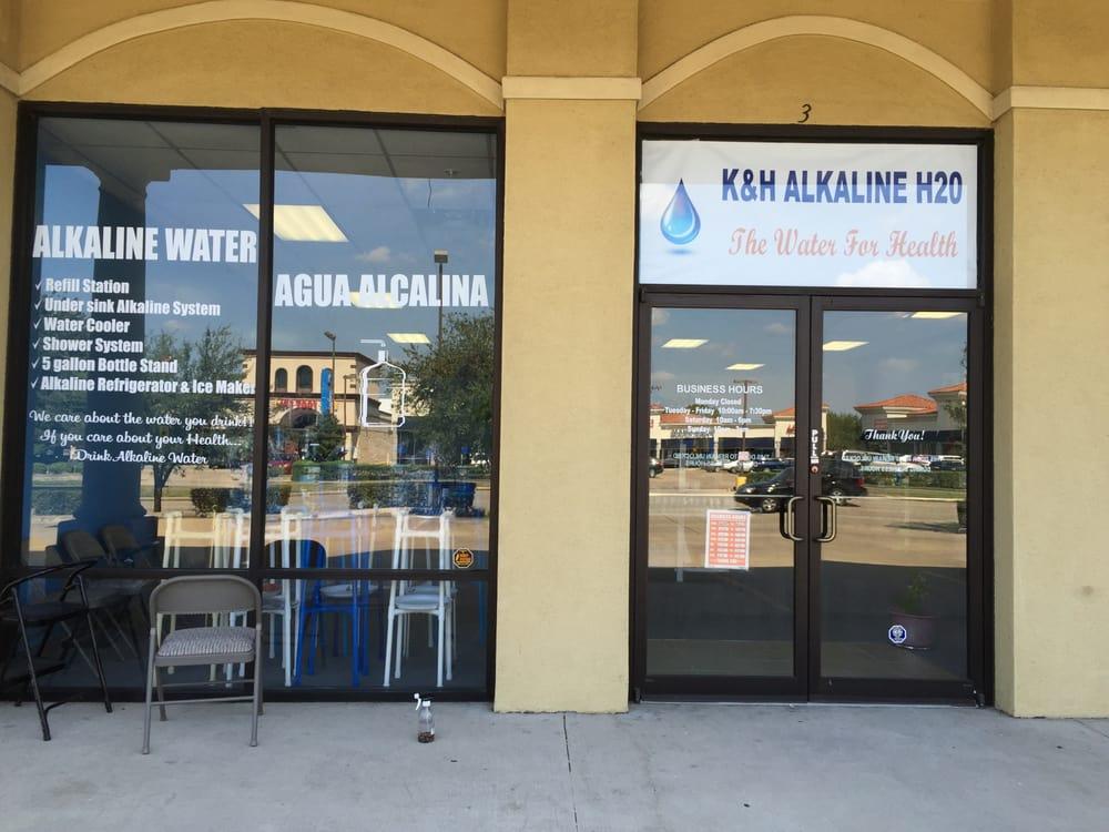 K&H Alkaline H2O: 12989 Bellair Blvd, Houston, TX