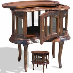 Photo Of Queens Furniture   Houston, TX, United States. Butler Table With  Removable