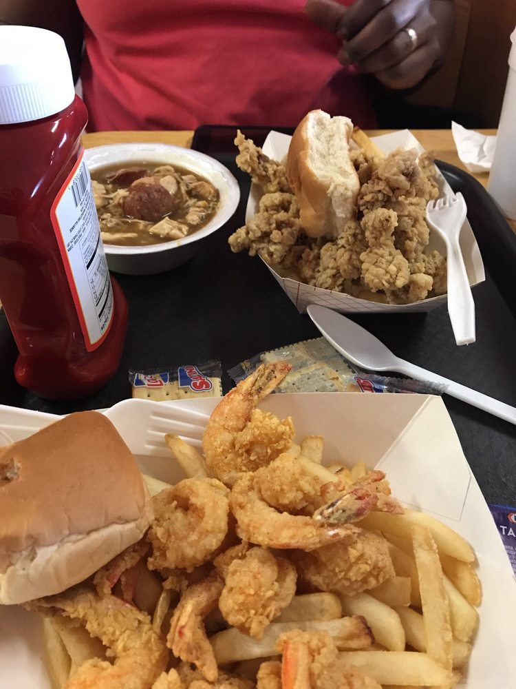 Photo Of Cajun Way Restaurant Crowley La United States Gizzards Fried