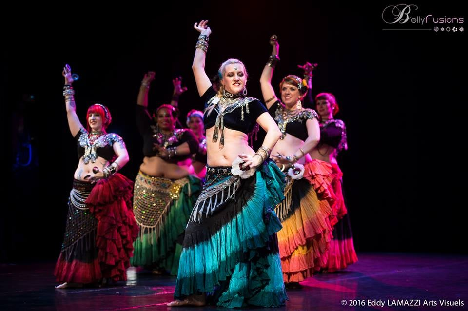 how to start belly dancing