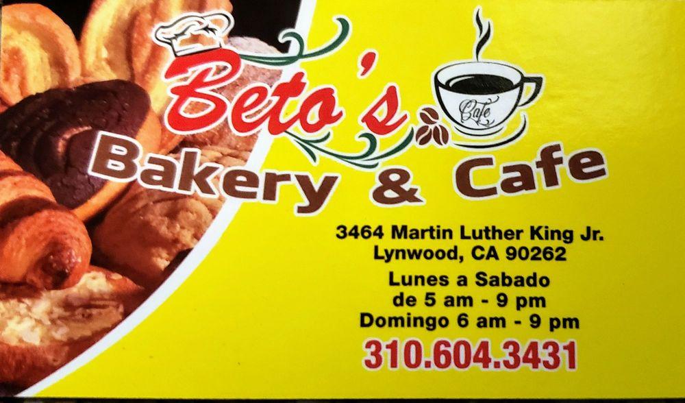 Beto's Bakery & Cafe: 3464 Martin Luther King J, Lynwood, CA
