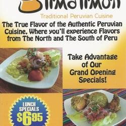 Lima limon traditional peruvian cuisine closed for Authentic peruvian cuisine