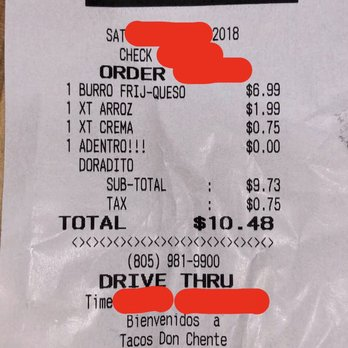 Tacos Don Chente - Order Food Online - 163 Photos & 211 Reviews