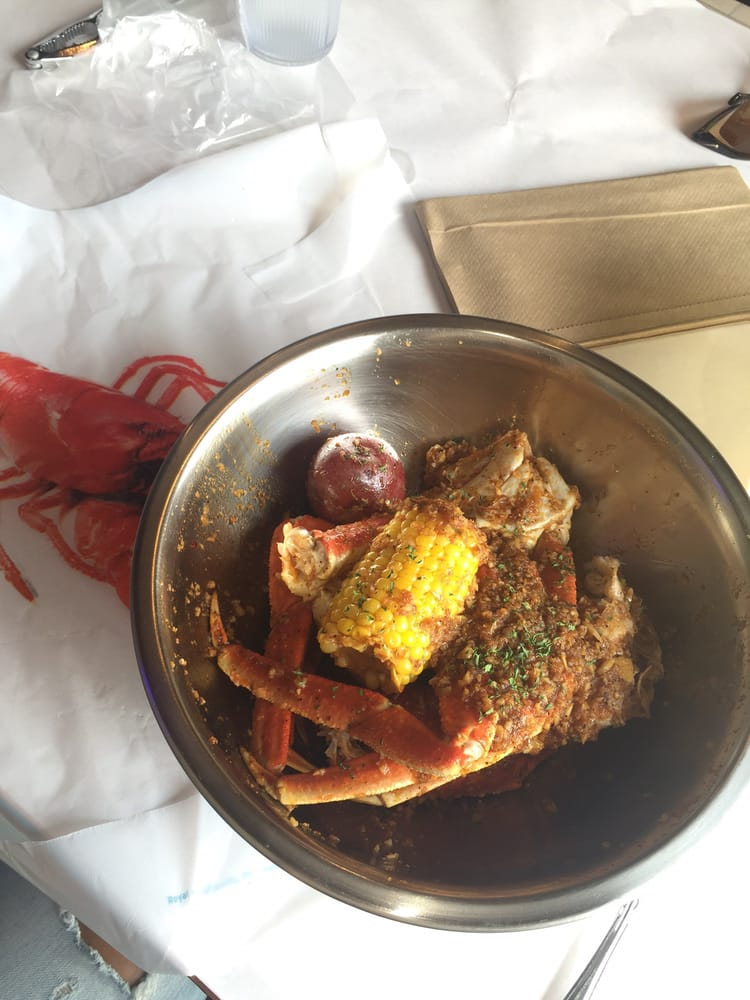 Crab Legs With Torpedo Sauce Yelp