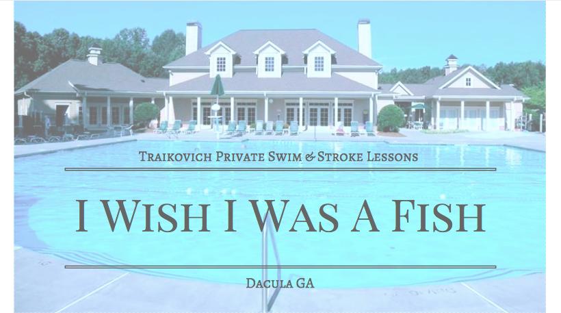 I Wish I Was A Fish: 1669 Hamilton Mill Pkwy, Dacula, GA