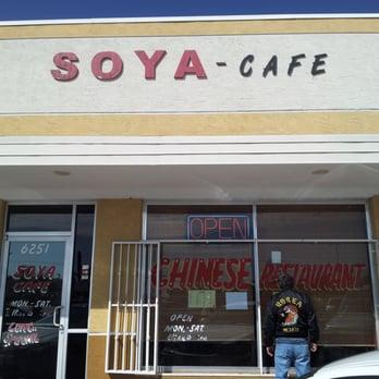 Soya Cafe Menu El Paso