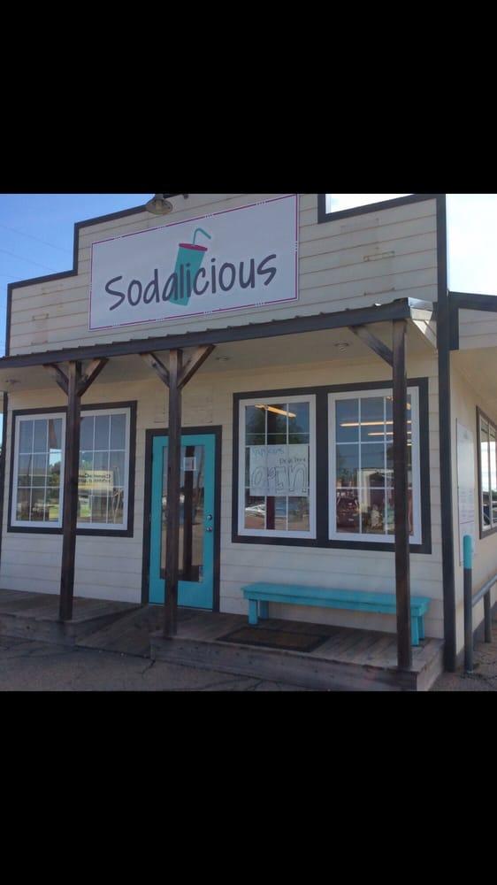 Sodalicious: 608 North Highland Ave, Cushing, OK
