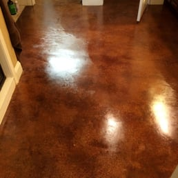 Photo Of Floor Doctor   McGregor, TX, United States. Stained Concrete With 4