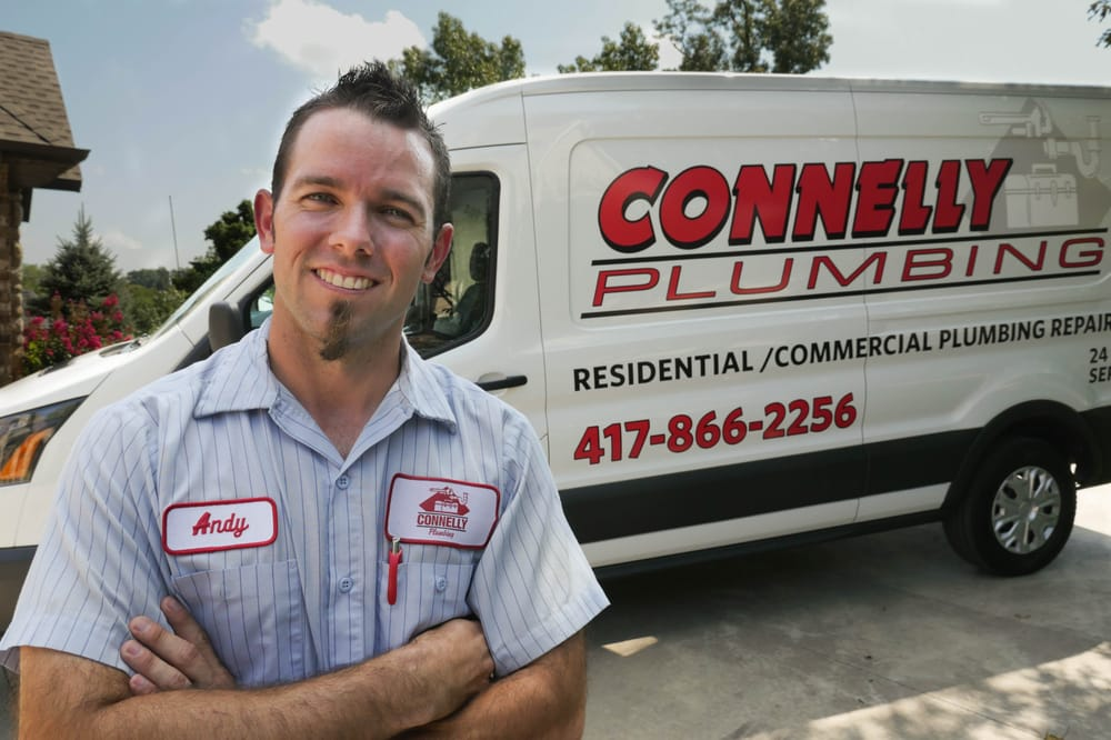 Connelly Plumbing Heating & Air: 1219 E Division St, Springfield, MO