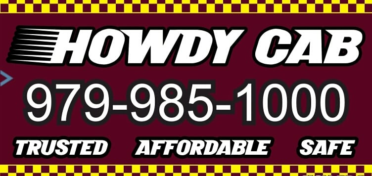 Howdy Cab: College Station, TX