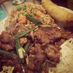 Photo Of Great China Restaurant Kirkland Wa United States Mongolian Beef Lunch