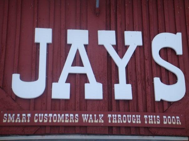 Jay's Furniture Barn: 7651 N Pingree Rd, Alma, MI