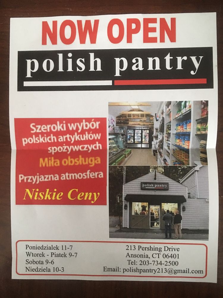 polish pantry: 213 Pershing Dr, Ansonia, CT