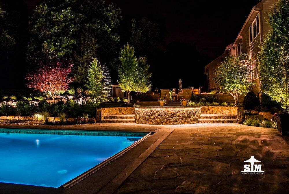 S&M Landscape Lighting: Hillsborough, NJ