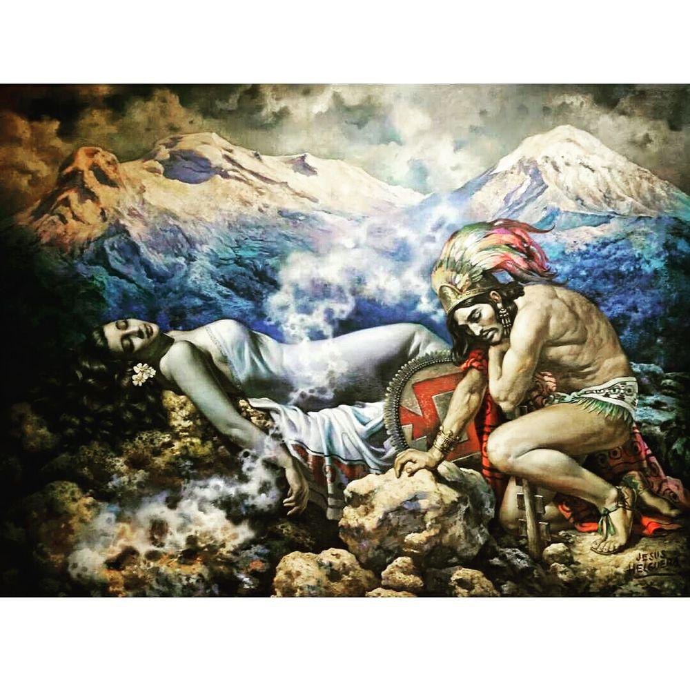 the legend of the volcanoes 1940 jesus helguera yelp