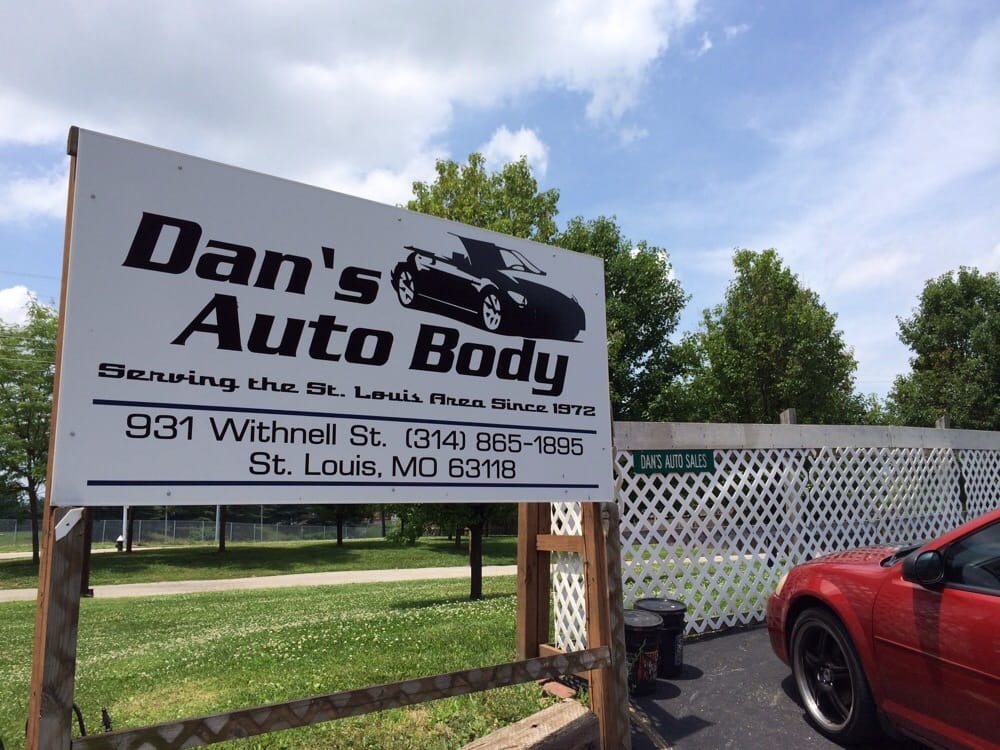 Dan S Auto Body Body Shops 931 Withnell Ave Soulard