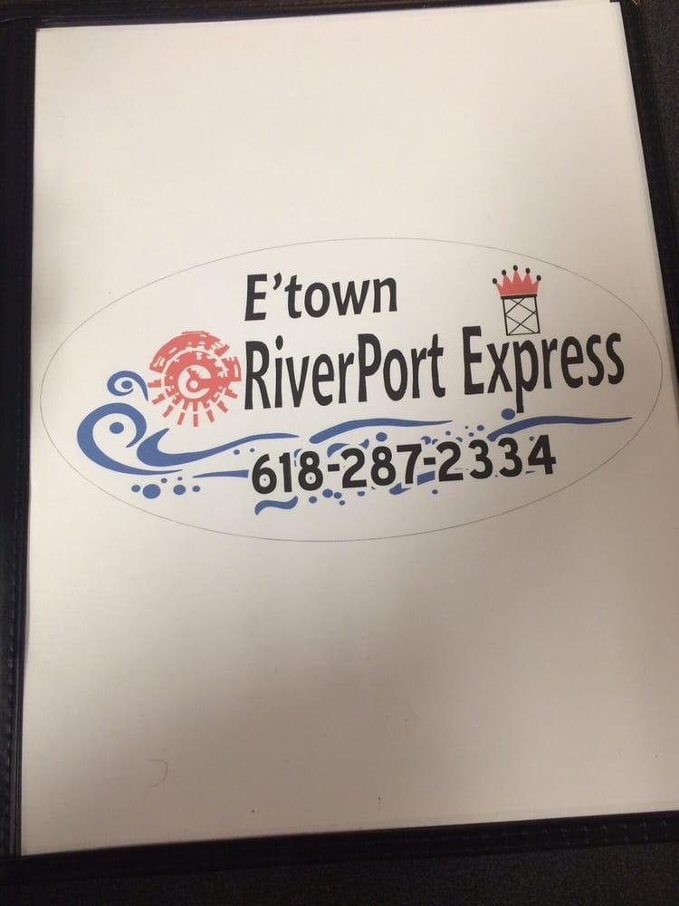 E'town Riverport Express: 251 Front St, Elizabethtown, IL