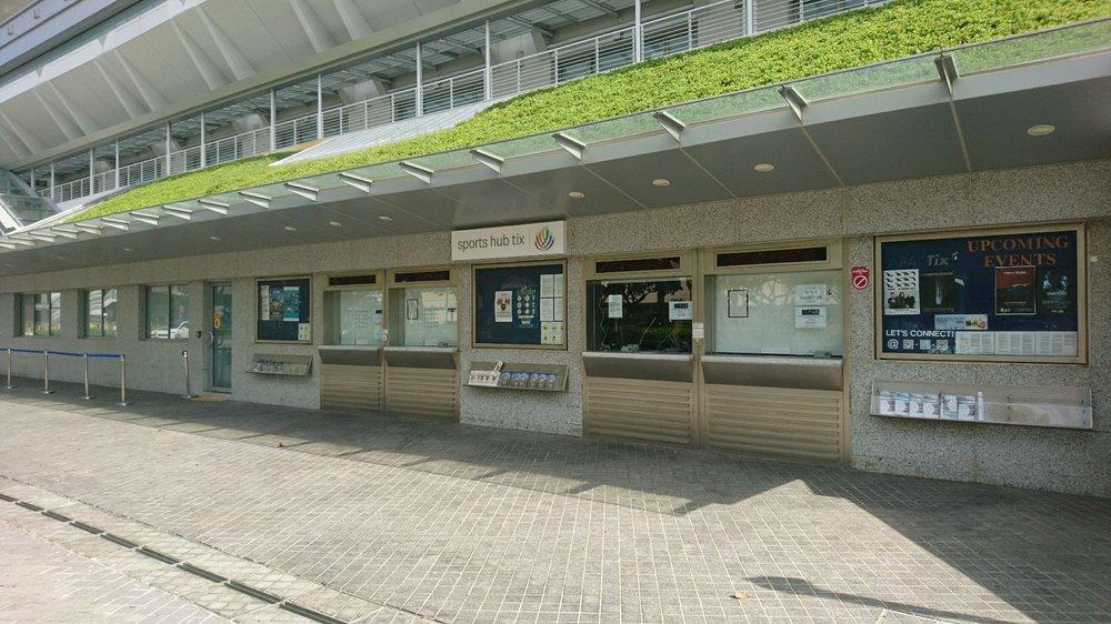 Photo of Singapore Indoor Stadium - Singapore, Singapore. Sports hub tix box office located here!