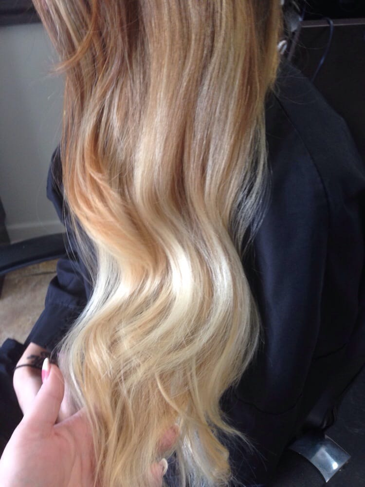 Another beautiful color melt yelp for Accents salon salisbury md