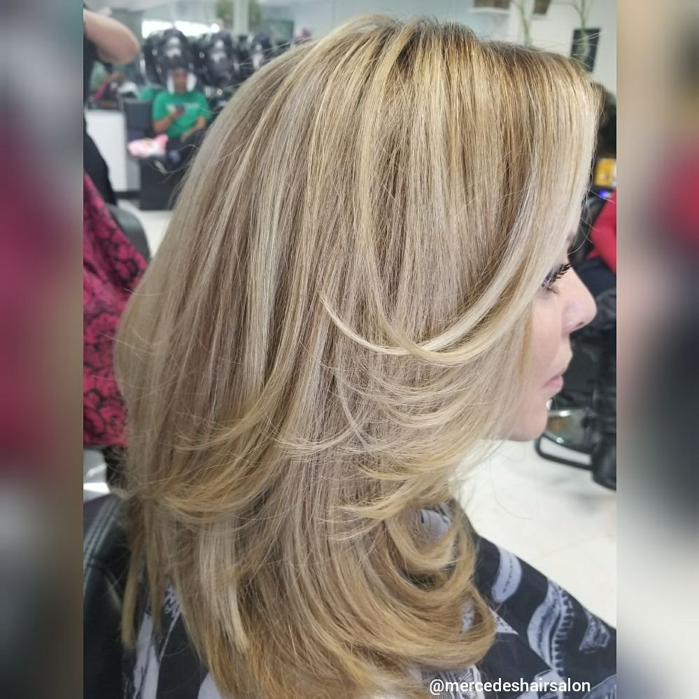 Be blonde mercedeshairsalon yelp for 3 13 salon marietta ga