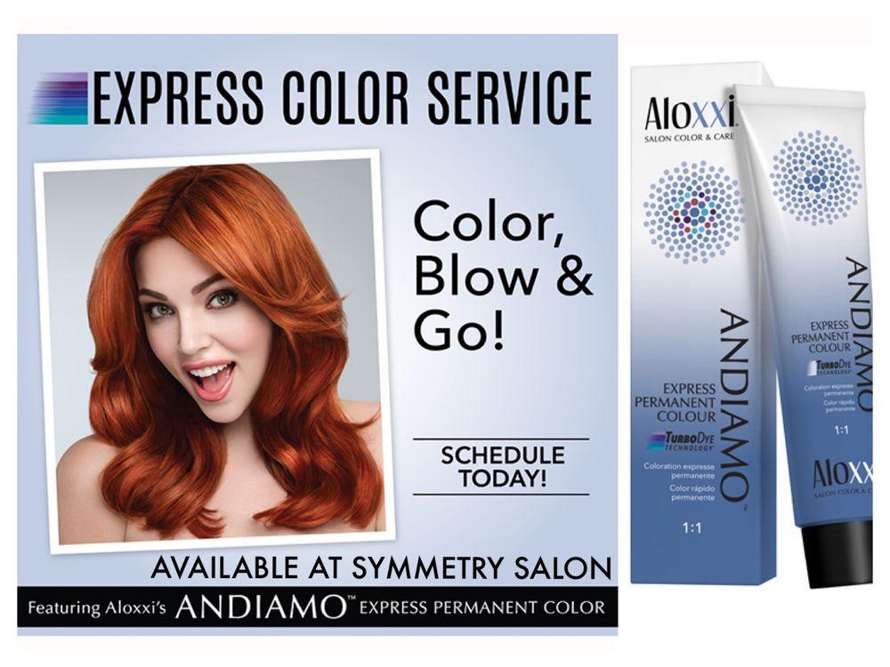 10 Minute Permanent Color Service Now Available At Symmetry Salon